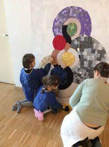 Ecole allemande de Genève 2016 – intervention artistique